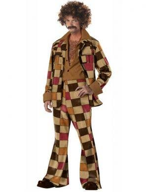 Disco Sleazeball Men's 70's Costume