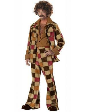 Disco Sleazeball Men's 70's Costume