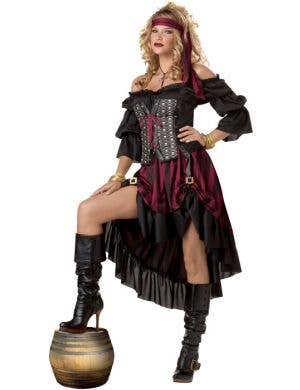 Pirate Wench Women's Fancy Dress Costume