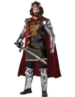 King Arthur Deluxe Men's Medieval Fancy Dress Costume