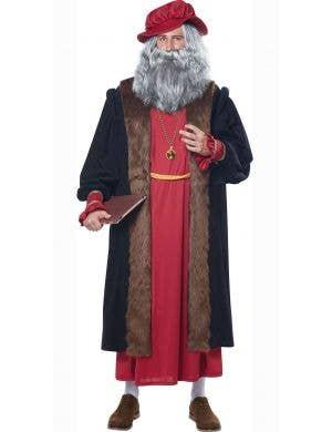 Men's Historical Leonardo Da Vinci Fancy Dress Costume