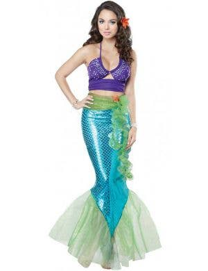 Mythical Mermaid Sexy Women's Fancy Dress Costume