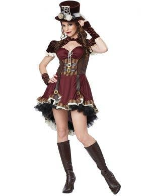 Steampunk Girl Sexy Women's Costume