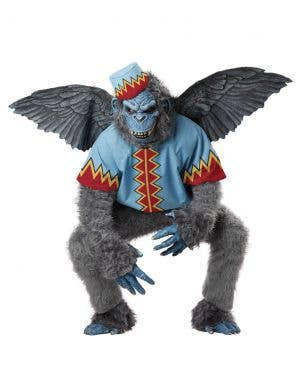 Evil Wizard of Oz Adult's Deluxe Winged Monkey Costume