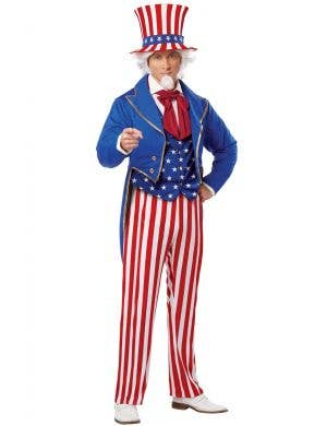 American Symbol Uncle Sam Fancy Dress Costume Main Image