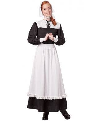 Religious Pilgrim Women's Fancy Dress Costume Main Image