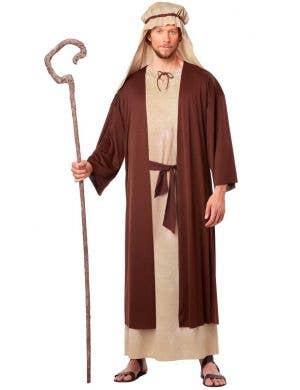 Men's Biblical Joseph Nativity Fancy Dress Costume