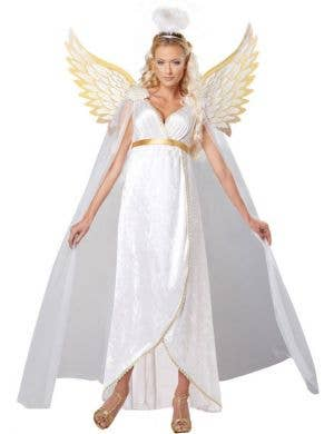 Guardian Angel Women's Fancy Dress Costume