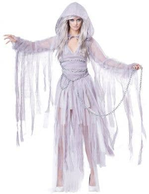 Haunting Beauty Ghost Women's Halloween Costume