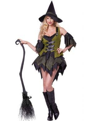 Bewitching Babe Sexy Women's Witch Halloween Costume