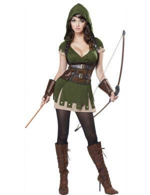 Women's Robin Hood Arrow Fancy Dress Costume