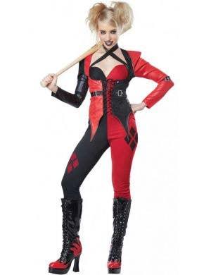 Women's Psycho Harley Quinn Sexy Costume