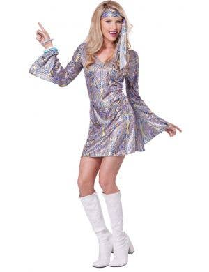 1970's Disco Sensation Women's Fancy Dress Costume