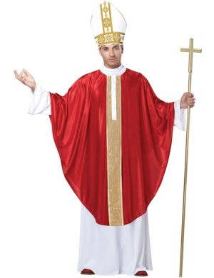 Holy Pope Men's Fancy Dress Costume