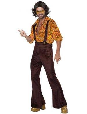 Men's 1970's Disco Dude Fancy Dress Costume