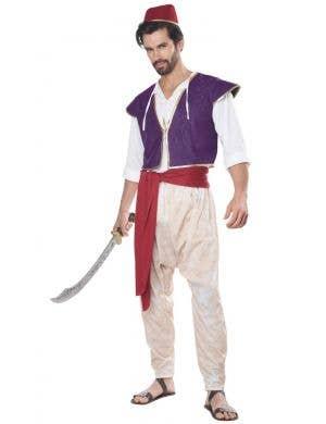 Arabian Folk Hero Men's Aladdin Costume