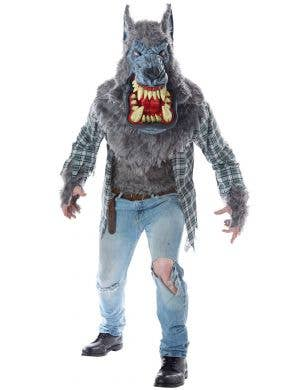 Monster Wolf Deluxe Men's Halloween Costume