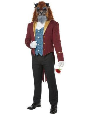 Storybook Beast Men's Fairytale Fancy Dress Costume