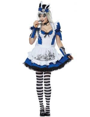 Mad Alice Women's Deluxe Alice in Wonderland Costume