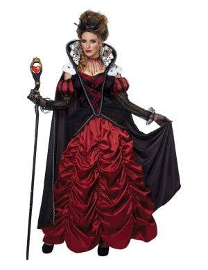 Dark Queen Of Hearts Deluxe Women's Costume