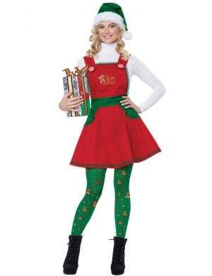 Elf in Charge Women's Fancy Dress Costume