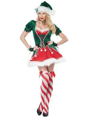 Santa's Helper Sexy Women's Christmas Elf Costume