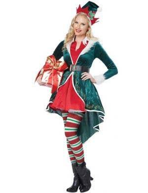 Christmas Elf Sexy Women's Costume