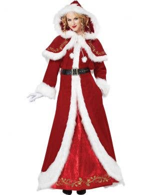 Mrs Claus Deluxe Women's Christmas Costume