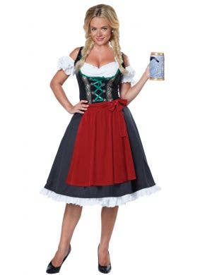 Women's German Beer Girl Oktoberfest Costume Main Image