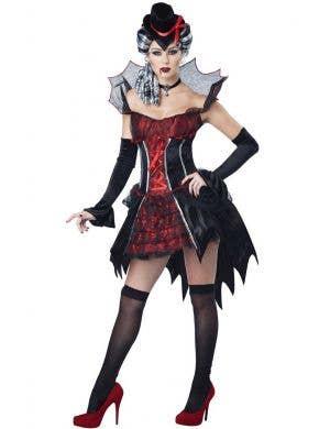 Victorian Temptress Sexy Women's Vampire Costume