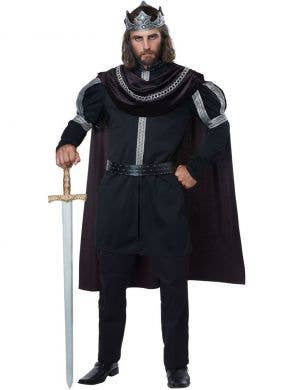 Dark Monarch Men's Evil King Halloween Costume