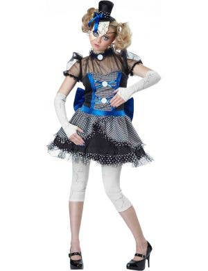 Creepy Doll Women's Halloween Fancy Dress Front View