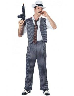 Men's 1920's Gangster Fancy Dress Costume