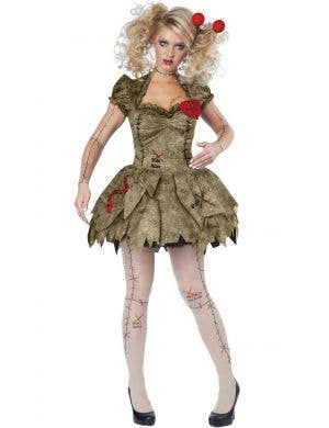 Sexy VooDoo Doll Women's Halloween Costume
