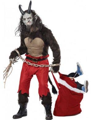 Men's Krampus Christmas Devil Dress Up Costume