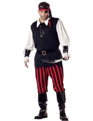 Men's Buccaneer Pirate Plus Size Costume Main Image
