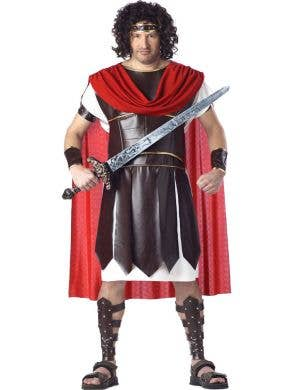 Plus Size Men's Roman Gladiator Fancy Dress Costume