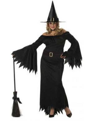 Plus Size Black Witch Women's Halloween Costume