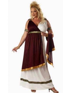 Roman Empress Women's Plus Size Costume