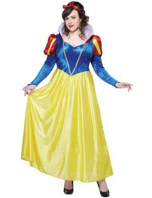 Classic Snow White Plus Size Women's Book Week Costume