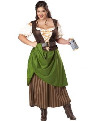 Tavern Maiden Plus Size Women's Costume