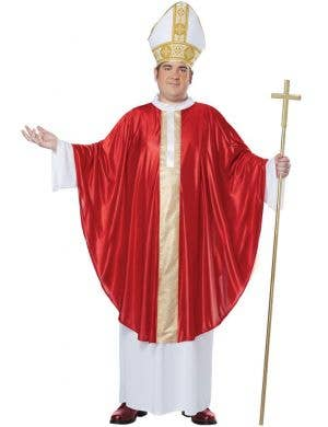 Men's Catholic Pope Religious Fancy Dress Costume