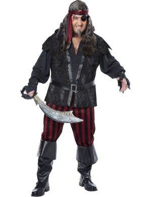 Ruthless Rogue Plus Size Men's Pirate Costume