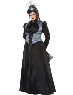 Lizzie Borden Axe Murderess Halloween Plus Size Costume Main Image