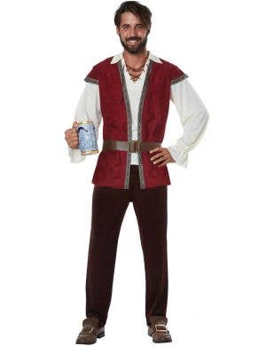 Medieval Man Adult's Renaissance Fancy Dress Costume Main Image