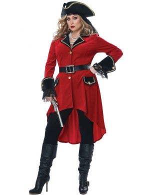 High Seas Heroine Women's Plus Size Pirate Costume