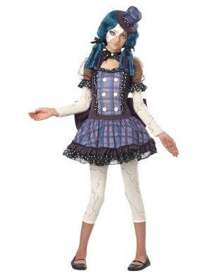 Broken Doll Teen Girls Halloween Costume Main Image