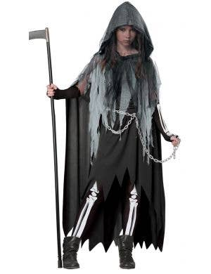 Miss Reaper Teen Girls Halloween Costume