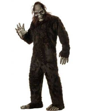 Plus Size Men's Big Foot Halloween Costume Main Image