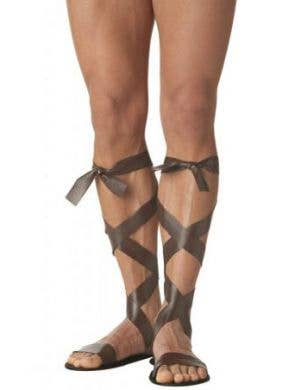 Roman Gladiator Men's Costume Sandals